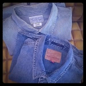 Mens Lucky Jean Shirts
